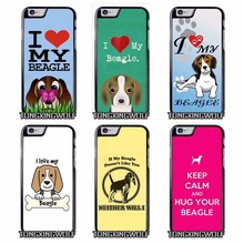 I love my Beagle Dogs Cover Case for Sony Z1 Z2 Z3 E5 Z5 Compact C3 C4 C5 M2 M4  T3 X XA XZ Performance huawei P8 P9 Lite