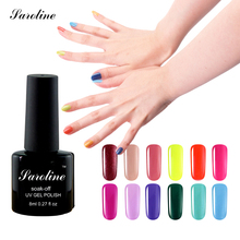SarolineHot  UV lucky Gel Polish Art Gel Nails Polish Long-lasting Soak-off LED UV nail Gel lak Color vanishes