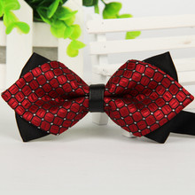 Mantieqingway Commercial Men's Bow Tie Skinny Brand 12cm*6.5 cm Bowties For Men Accessories Wedding Ties Gravata Cravat(China)