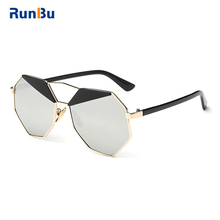 Newest Hot Design Sell UV400 Metal Frame Sunglasses Eyewear Glasses for Women