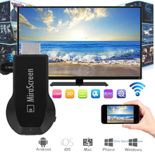 Mirascreen DLNA Airplay WiFi Display Miracast TV Dongle HDMI Receiver Mini Android TV Stick Full HD(China)