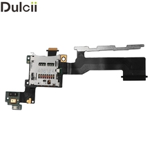 Dulcii Mobile Phone Parts for HTC One (M9) OEM SD Card Slot Holder Flex Cable Replacement for HTC One M9