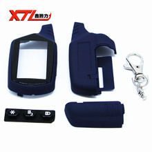 Russia version A91 case keychain for Starline A91 lcd two way car alarm starter free shipping