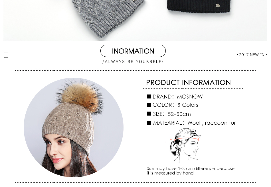 woman winter hats MZ710B (3)