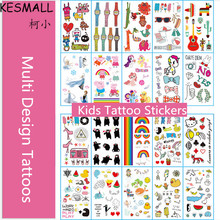 KESMALL 40Pcs Fashion Cartoon Waterproof Temporary Tattoos Sticker Children Car Watch Body Art Fake Tattoo Tatouage Enfant CO641(China)
