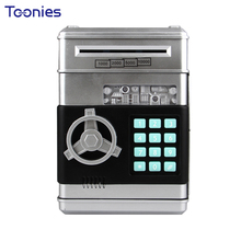 Creative New Year Gift Children Intelligent Safe Money Box Voice Password Box ATM Automatic Money Storage Coin Bank Home Decor(China)