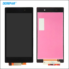 DigRepair For Sony Xperia  Z1 L39h C6902 C6903 LCD Display Digitizer Touch Screen With Full Assembly Replacement 100% Test,Black