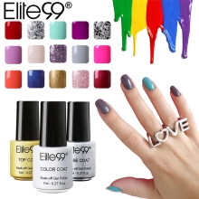 Elite99 7ml Gel Nail Polish 58 Color UV Nails Long Lasting Nail Polish Lacquer Best Gels for Nail Art Design(China)