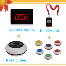 China Communications Mall Restaurant Pager System Wireless Calling Waiter Server Call Paging System