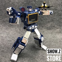 [Show.Z Store] THF Toy House Factory KBB Soundwave MP-13 Masterpiece Includes 6 Converting Microcassettes MP Size