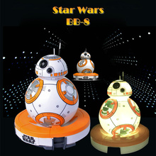 Star Wars The Force Awaken BB-8 Action Figure Table Lamp LED Light Color Changing Nightlight Toys for Children Christmas Gifts(China)