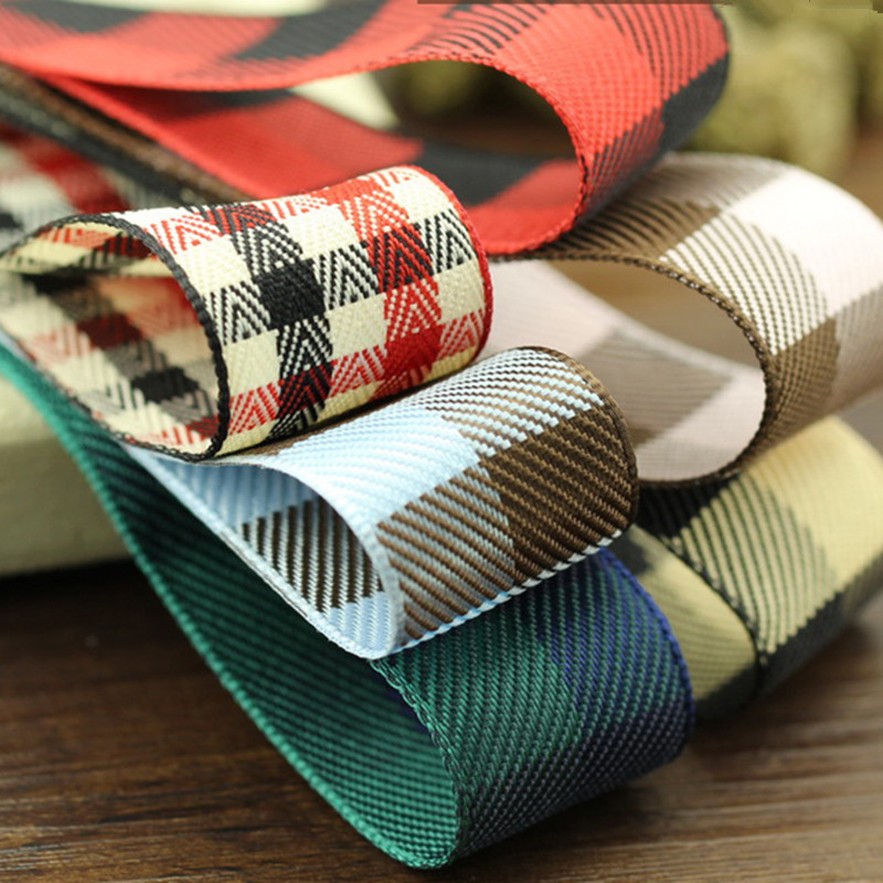 """7 colours 5meter/lot 1""""(25 mm) material escolar Handmade DIY hair bow material Computer embroidery ribbon Free shipping T-007"""