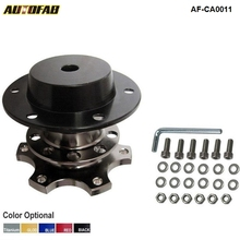 AUTOFAB - Quick Release Snap Off Hub Adapter fits Car Sport Steering Wheel For Honda Civic Accord S2000 Prelude CRX AF-CA0011(China)