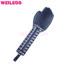Buy palm whip flogger spanking paddle chicote adult sex toys bdsm bondage set fetish slave bdsm sex toys couples adult games
