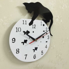 2017 sale quartz watch wall clock acrylic mirror reloj pared horloge needle diy clocks living room modern watches 3d stickers