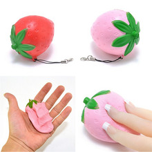 JETTING Jumbo Chocolate Boy Girl/Strawberry Squishy Soft Slow Rising Scented Sweet Cream Gift Fun Toy Mobile Phone Straps Charms