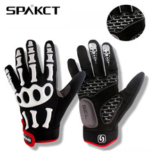SPAKCT Skiing Thermal Anti-slip Glove Snowboard Winter Protection Bike Moto Bicycle Gloves Outdoor Warmer Waterproof Equipment(China)