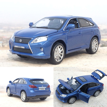 Free shipping New 1:32 Lexus rx450 Alloy Diecast Car Model Pull Back Toy Car model Electronic Car classical Car For Kids Toys