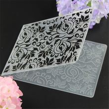 Plastic Cake Stencil Biscuit Embossing Folder DIY Mold Scrapbooking Album Card Cutting Dies Template Craft Tool
