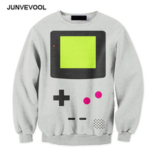 Newly Game Consoles 3d Hoodies Cool Fashion Harajuku Sweatshirt Creative Mens Hip Hop Hoodie Long Sleeve Men's Streetwear Tops(China)