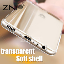ZNP Transparent Case For Huawei P10 Plus P10 lite Ultra Thin Clear Soft TPU Silicone Cover Cases For Huawei P10 Plus Case Coque