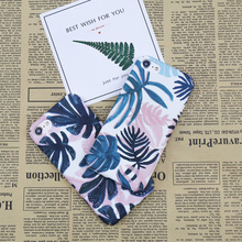 Retro Color Plants Leaf Phone Case For iphone 7 8 Plus Case Art Style Painted Pattern Flowers Hard PC Cases(China)