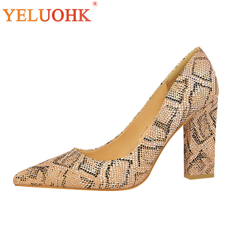 Extreme High Heels 2018 Spring Autumn Shoes Women Heels 9.5 CM Sexy Women Pumps High Quality<br>