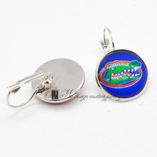 University of Florida NCAA Charms Earings French Hook Earrings for Women Gift 20pcs/Lot GE074