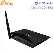 Android 7.1 A5x pro TV Box Arabic IPTV STB channels subscription QHDTV Sports IT DE French European 1400 channels APK Included