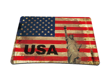 USA Flag Anti-Slip Laptop Computer PC Mouse Pad Mice Pad Mat Mousepad For Optical Laser Mouse