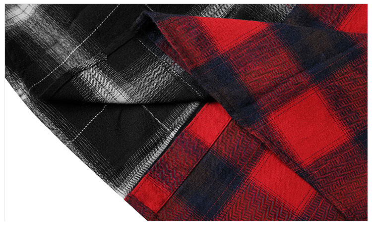 Aolamegs Shirts Men Classic Patchwork Plaid Male Shirts Thin Cotton Full Sleeve Shirt Fashion Casual Slim College Style Autumn (12)