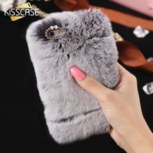 For iPhone 7 7 Plus Soft Smooth Touch Fur Case for Apple iPhone 6 6S 6 6s Plus 5 5s 5se Cute Women Girl Lady Case Accessories