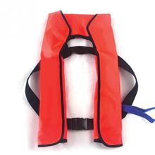 Adult Manual Inflatable Surfing Life Jacket Vest Adult Swimwear Boating Swimming Water Sports Safety Jacket