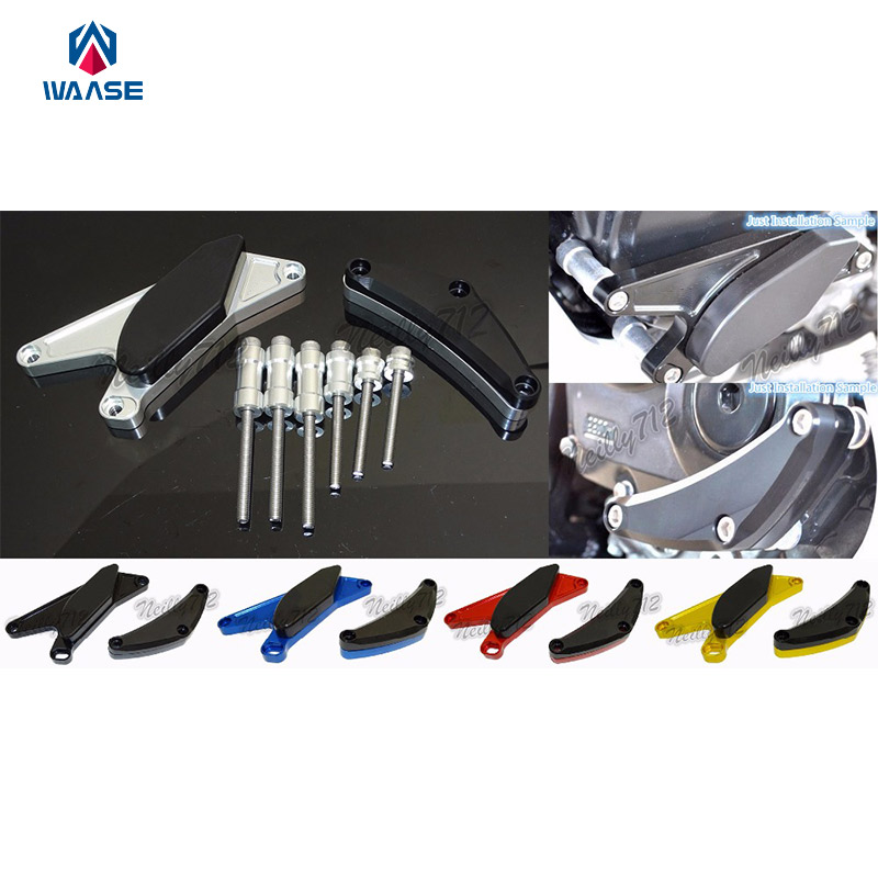 Motorcycle Left &amp; Right Engine Crash Pads Frame Sliders Protector For Suzuki GSXR 600 750 2006 2007 2008 2009 2010<br>