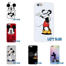 Mickey Mouse Silicon Soft Phone Case For Sony Xperia Z Z1 Z2 Z3 Z5 compact M2 M4 M5 E3 T3 XA Aqua(China)