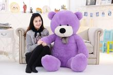 Big Sale 200cm 2m 78'' giant teddy bear large plush toys children soft peluches baby doll big stuffed animals girl birthday gift