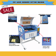 co2 laser engraving machine/rotary laser cutter 4060/6040reddot position rotary used for glass bottle,glass crafts