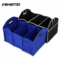 Collapsible Car Trunk Organizer Toys Food Storage Truck Cargo Container Bags Box Car Stowing Styling Non-woven Car Storage Bags