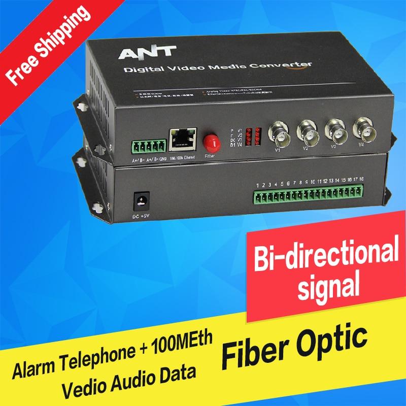 Fast Deliver Fiber Optic Video Audio Data Alarm Ethernet Digital Transmitter & Receiver Single Mode Single Fiber Fc 20km For Cctv 4ch Fiber Optic Equipments Back To Search Resultscellphones & Telecommunications