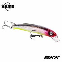 SeaKnight Minnow Lure SK005 1PC 13g 11cm Diving Depth 0.3-0.9M Floating Hard Carp Fishing Lures Swim Artificial Bait 2 BKK Hooks(China)