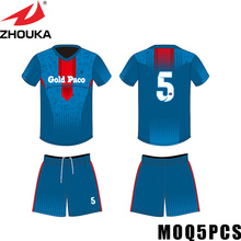 football team logo wholesale tshirt 3d football jersey thailand supplier(China)