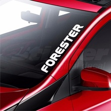 For Subaru Forester Car Windscreen Sticker Rear Window Bumper Decal Car Styling*IT16122707297*(China)