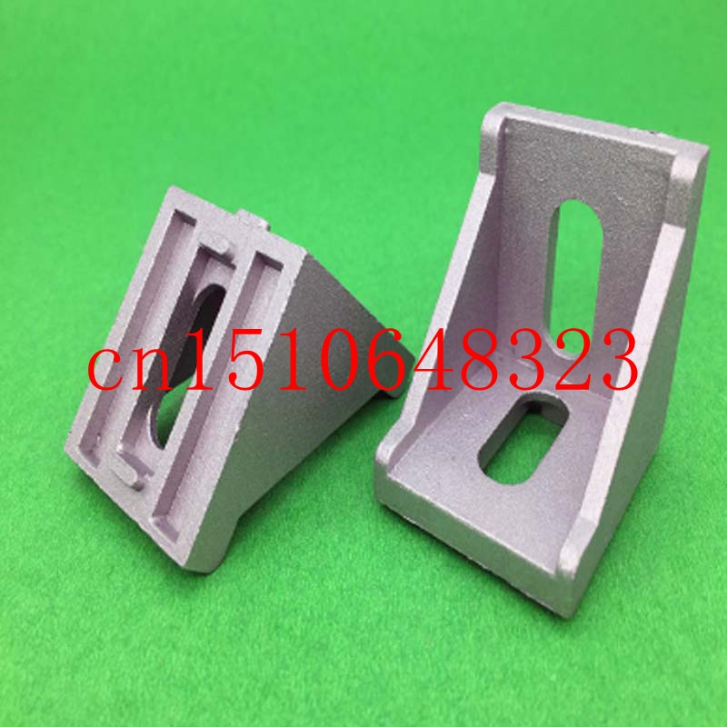 4040 European Standard Aluminum Corner Right Angle Connector 90 Degree Bracket Hardware parts<br><br>Aliexpress