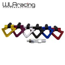 WLRING- LZONE Billet Aluminum Tow Hook F&R Triangle Ring Towing Hook For BMW MINI COOPER F10 F11 F25 F26 3/4/5 SERIES WLR015