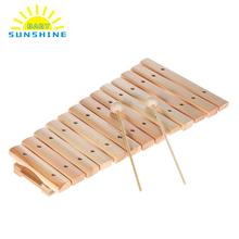 Learning & Education Wooden Xylophone For Children Kid Musical Toys Wisdom Juguetes 8-Note Toddler Music Instruments for Kids