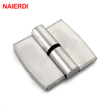 NAIERDI Bathroom Partition Stainless Steel Door Hinge Automatic Lift Hinges For Public Toilets Hardware(China)