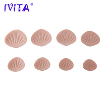 Buy IVITA 430g/Pair Sutan Realistic Silicone Breast Forms Fake Boobs False Breasts Mastectomy Crossdresser Shemale Bra Drag Queen