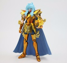 in stock Pisces Aphrodite Saint Seiya S-Temple ST METAL CLUB model Myth EX Gold Saint Metal feet armor Toy PayPal Payment(China)