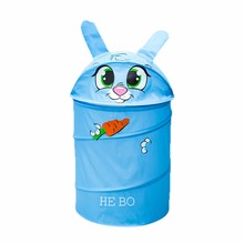 Cartoon Design Animals Shape Kids Children Pop Up Clothes Storage Basket Home Toys Shoes Storage Organizer Basket Hot New