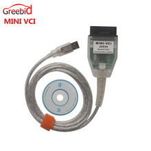 Cheapest MINI VCI for TOYOTA Single Cable Support for Toyota TIS OEM Diagnostic Software High performance with ARM CPU inside